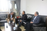 扎西次仁、袁东亚一行访问中山大学协商2016年对口支援工作计划 - 西藏民族学院