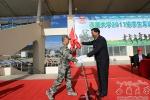 西藏大学隆重举行2017级新生军训开训典礼 - 西藏大学