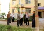 """欧珠书记检查指导校园""""创文""""工作 - 西藏民族学院"""