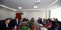 我校国际师生与《中国西藏》杂志社编辑座谈 - 西藏大学