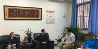 池万兴副校长检查指导财经学院维稳工作 - 西藏民族学院