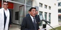 【媒体藏大】北大新结构经济学研究院西藏分院、藏大珠峰研究院揭牌 林毅夫 尼玛次仁致辞 - 西藏大学