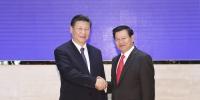 习近平会见老挝总理通伦 - 中国西藏网