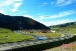 青海花久高速公路通车 平均海拔4000米 - 中国西藏网