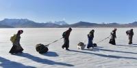 """为何《冰湖上的转场》组图能夺""""西藏风情""""摄影大赛最高奖? - 中国西藏网"""