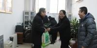 """学校开展慰问""""军烈属、荣誉伤残军人""""活动 - 西藏民族学院"""