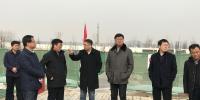 杨占文一行赴秦汉校区检查项目建设情况 - 西藏民族学院