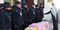 校领导看望慰问寒假值班安保人员并检查指导工作 - 西藏大学
