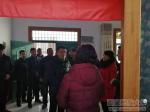 礼泉县委副书记、县长钟伟一行看望慰问我校驻张咀村工作队员 - 西藏民族学院