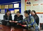 扎西卓玛副校长慰问假期留校实习生 - 西藏民族学院