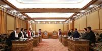 刘凯校长主持召开座谈会  欢迎中山大学对口援藏教师到民大工作生活 - 西藏民族学院
