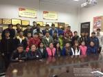 【三联三进一交友】新时代 新气象 新要求—扎西卓玛副校长参加帮扶班级主题班会 - 西藏民族学院