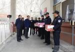 刘凯校长一行看望慰问一线安保工作人员 - 西藏民族学院