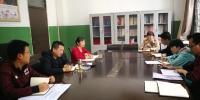 唐泽辉副校长深入财务处检查指导工作 - 西藏民族学院
