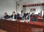学校领导参加教育部、自治区2018年全国(区)普通高校招生考试安全工作电视电话会议 安排部署我校相关考试安全工作 - 西藏民族学院