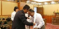华东师范大学工会专职副主席吕玉才一行来我校调研 - 西藏民族学院