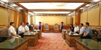 南京大学校长吕建一行到我校考察交流 - 西藏民族学院