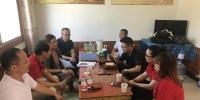我校第五批定点张咀村扶贫驻村工作队顺利完成工作交接 - 西藏民族学院