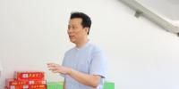 学校领导慰问暑期在岗教职工 - 西藏民族学院