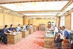 湖南有色金属职业技术学院院长谭骁彧一行到我校考察交流 - 西藏民族学院