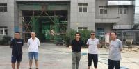刘凯校长检查学校暑期基建维修改造工作 - 西藏民族学院