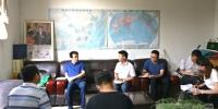 刘凯校长到教务处督导新学年开学准备工作 - 西藏民族学院