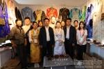 欧珠书记参观第四届藏博会并考察学校参展工作室 - 西藏民族学院
