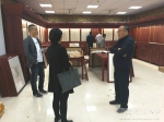 袁东亚副校长到图书馆检查指导工作 - 西藏民族学院