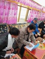 自治区科技厅党组书记王平赴那曲市开展贫困户结对帮扶工作并看望慰问驻村干部 - 科技厅