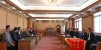 """【60•民大正当时】张咀村""""两委""""到咸阳恭祝我校六十华诞 - 西藏民族学院"""
