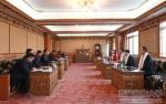 西安科技大学副校长王贵荣一行到我校座谈交流 - 西藏民族学院