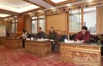 中国人民银行拉萨中心支行与西藏民族大学金融研究合作室成立并举行揭牌仪式 - 西藏民族学院