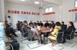 欧珠刘凯史本林慰问学校基建项目建设者 - 西藏民族学院