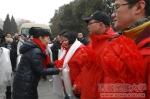 学校创先争优强基础惠民生活动第八批第二轮驻村工作队出征 - 西藏民族学院