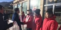 学校领导在拉萨办事处欢送第八批第二轮驻村工作队员 - 西藏民族学院