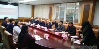 袁东亚副校长带队赴西藏驻成都办事处医院参观交流 - 西藏民族学院