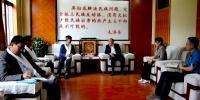 陕西机电职业技术学院到我校交流学生管理经验 - 西藏民族学院