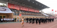 西藏民族大学第55届运动会开幕 - 西藏民族学院