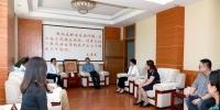北京外国语大学副校长孙有中一行来访我校 - 西藏民族学院